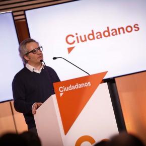 """Pérez-Nievas (Cs): """"La realidad de Navarra no justifica la oficialidad total del euskera"""""""