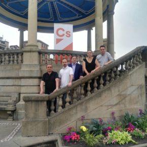 Ciudadanos Navarra presenta su nueva Junta Directiva en Pamplona