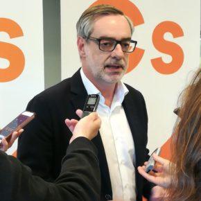 """Villegas (Cs): """"Todos los navarros deben saber que donde Ciudadanos sea decisivo no gobernarán populistas y nacionalistas"""""""