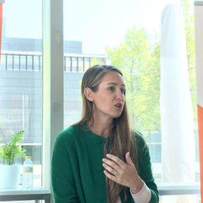 """Melisa Rodríguez (Cs): """"Navarra tiene que retener el talento y volver a ser un destino atractivo para la juventud"""""""