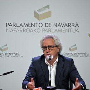 """Pérez-Nievas: """"El Gobierno de Navarra es un gobierno débil, incapaz de tomar decisiones y que tiene pánico a decir la verdad"""""""